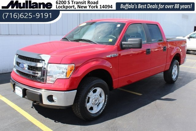 2014 Ford F-150 XLT 5.0L V8 FFV Engine Automatic 4 Door 4X4