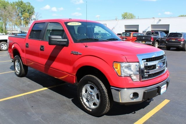 2014 Ford F-150 XLT 5.0L V8 FFV Engine Automatic 4 Door Truck