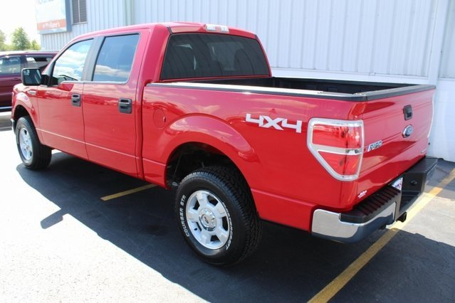 2014 Red Ford F-150 XLT 4X4 Truck Automatic 4 Door
