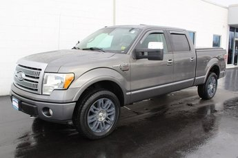 2009 Gray Ford F-150 Platinum 4X4 4 Door 5.4L V8 EFI 24V FFV Engine Automatic
