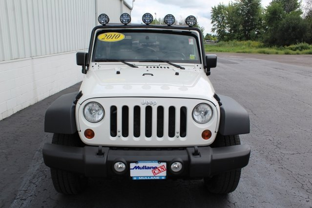 2010 Jeep Wrangler Sport 4X4 SUV 4 Door Automatic