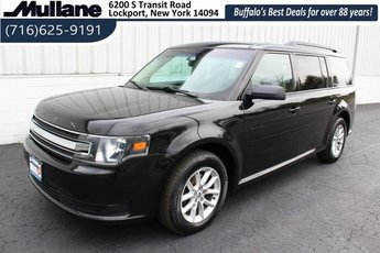 2014 Tuxedo Black Metallic Ford Flex SE 3.5L V6 Ti-VCT Engine 4 Door Automatic