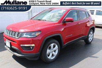 2018 Jeep Compass Latitude 4X4 4 Door Automatic