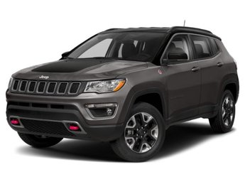 2019 Granite Crystal Metallic Clearcoat Jeep Compass Trailhawk 2.4L I4 Engine SUV 4 Door