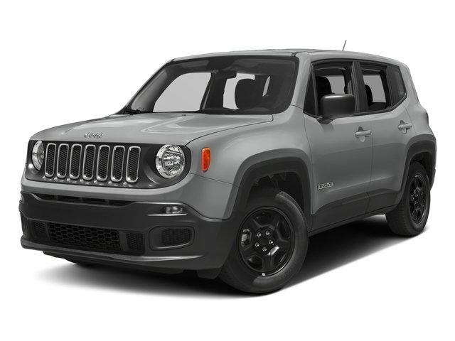 2018 Glacier Metallic Jeep Renegade Upland Edition 2.4L I4 Engine 4 Door Automatic SUV