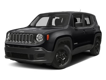 2018 Black Jeep Renegade Latitude 4X4 SUV 4 Door 2.4L I4 Engine Automatic