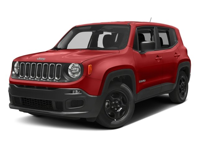 2018 Colorado Red Jeep Renegade Latitude Automatic 4 Door 4X4 2.4L I4 Engine