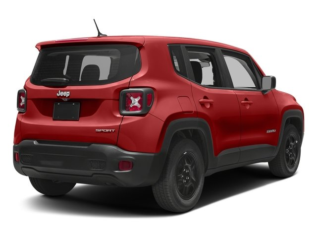 2018 Colorado Red Jeep Renegade Latitude 2.4L I4 Engine 4X4 4 Door Automatic