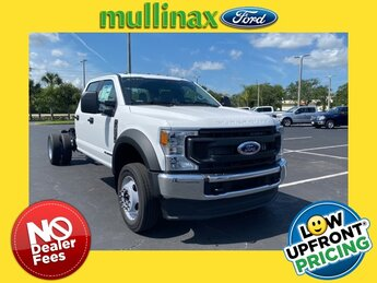 2021 Oxford White Ford Super Duty F-550 DRW XL RWD Automatic Truck
