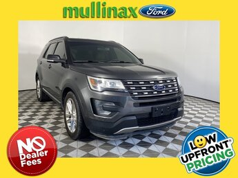 2017 Magnetic Metallic Ford Explorer XLT 3.5L 6-Cylinder SMPI DOHC Engine 4 Door SUV FWD Automatic