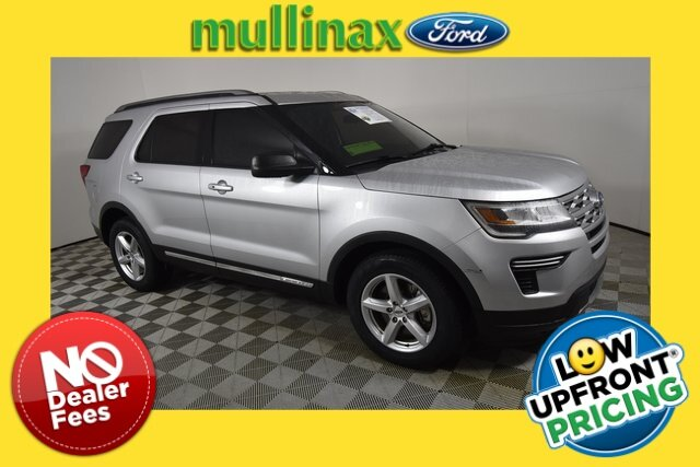 2019 Ingot Silver Metallic Ford Explorer XLT Automatic SUV FWD 4 Door 3.5L V6 Ti-VCT Engine