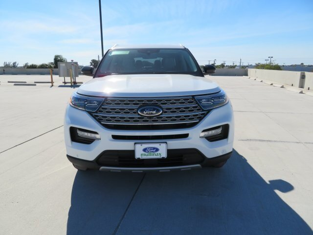 2021 White Ford Explorer Limited RWD Automatic SUV 3.0L I4 PDI Hybrid Turbocharged DOHC 16V LEV3-ULEV70 300hp Engine