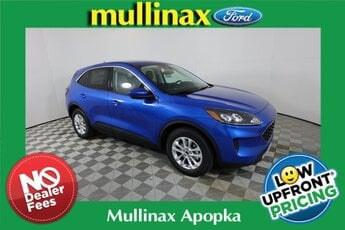 2021 Velocity Blue Metallic Ford Escape SE FWD 1.5L EcoBoost Engine 4 Door