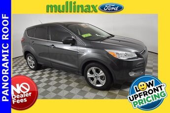 2015 Magnetic Ford Escape SE EcoBoost 2.0L I4 GTDi DOHC Turbocharged VCT Engine FWD SUV Automatic