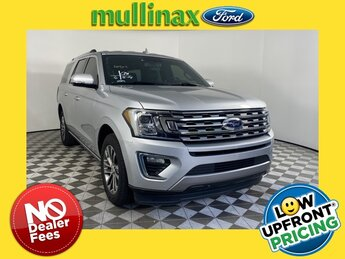 2018 Ingot Silver Metallic Ford Expedition Max Limited SUV 4 Door Automatic EcoBoost 3.5L V6 GTDi DOHC 24V Twin Turbocharged Engine RWD
