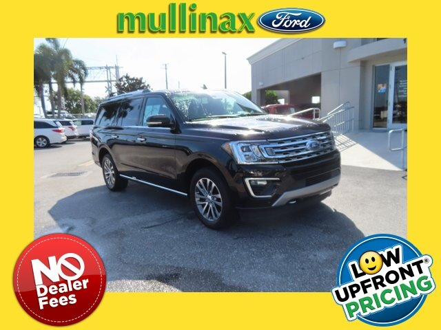 2018 Shadow Black Ford Expedition Max Limited EcoBoost 3.5L V6 GTDi DOHC 24V Twin Turbocharged Engine Automatic 4 Door RWD