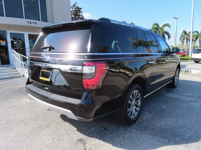 2018 Shadow Black Ford Expedition Max Limited 4 Door SUV Automatic RWD