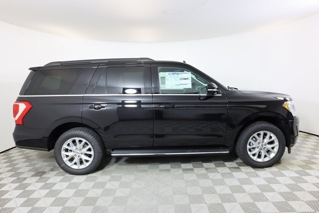 2021 Agate Black Metallic Ford Expedition XLT EcoBoost 3.5L V6 GTDi DOHC 24V Twin Turbocharged Engine Automatic SUV