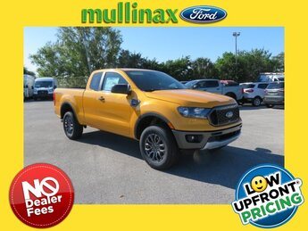 2021 Cyber Orange Metallic Tricoat Ford Ranger XLT RWD 4 Door EcoBoost 2.3L I4 GTDi DOHC Turbocharged VCT Engine Truck Automatic