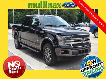 2018 Shadow Black Ford F-150 King Ranch 4X4 Automatic 4 Door EcoBoost 3.5L V6 GTDi DOHC 24V Twin Turbocharged Engine Truck
