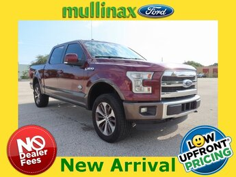 2015 Bronze Fire Metallic Ford F-150 King Ranch Truck Automatic 4X4 4 Door EcoBoost 3.5L V6 GTDi DOHC 24V Twin Turbocharged Engine