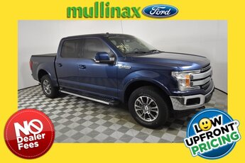 2018 Blue Jeans Metallic Ford F-150 Lariat 4X4 Automatic 2.7L V6 EcoBoost Engine