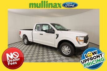 2021 Oxford White Ford F-150 XL Automatic 4 Door RWD Truck 5.0L V8 Engine