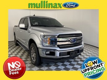 2019 Ingot Silver Metallic Ford F-150 Lariat Automatic V6 Turbo Engine 4X4 Truck