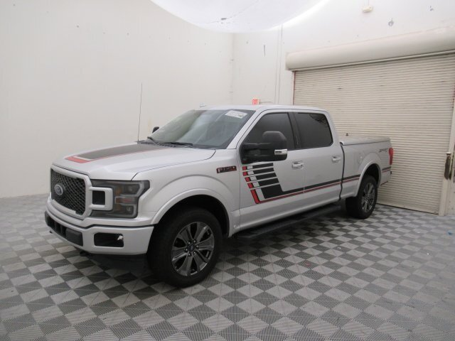2018 Ford F-150 Lariat 4X4 EcoBoost 3.5L V6 GTDi DOHC 24V Twin Turbocharged Engine Truck Automatic 4 Door