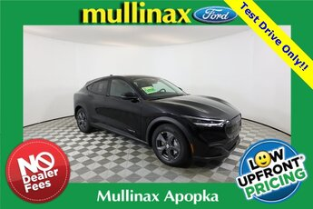2021 Shadow Black Ford Mustang Mach-E Select SUV 4 Door Automatic RWD Electric 266hp Engine