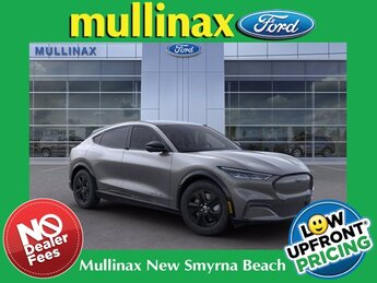 2021 Carbonized Gray Metallic Ford Mustang Mach-E California Route 1 SUV Electric 290hp Engine Automatic 4 Door