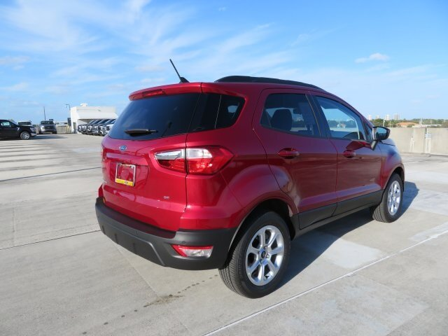 2021 Ford EcoSport SE 4 Door EcoBoost 1.0L I3 GTDi DOHC Turbocharged VCT Engine FWD