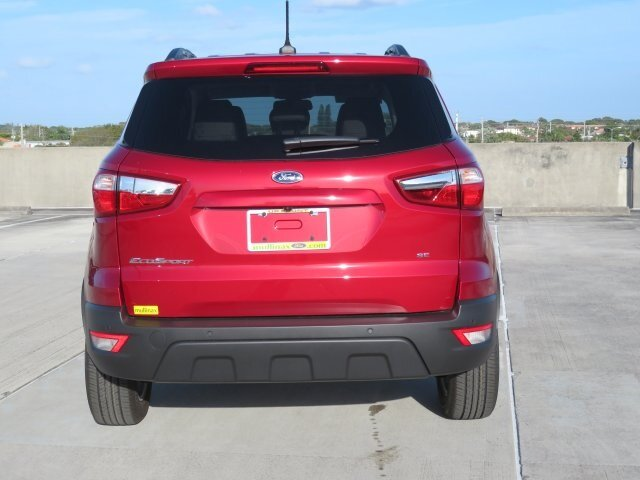 2021 Ford EcoSport SE Automatic FWD SUV EcoBoost 1.0L I3 GTDi DOHC Turbocharged VCT Engine