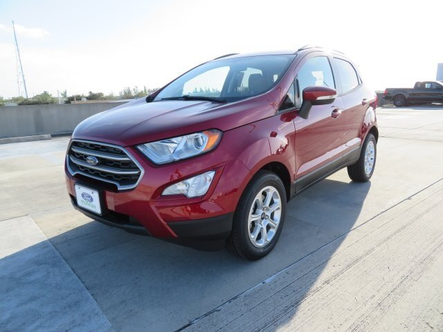 2021 Ruby Red Metallic Tinted Clearcoat Ford EcoSport SE FWD Automatic 4 Door
