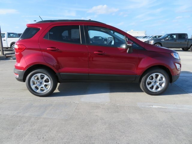 2021 Ford EcoSport SE Automatic EcoBoost 1.0L I3 GTDi DOHC Turbocharged VCT Engine SUV 4 Door FWD