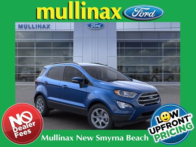 2021 Ford EcoSport SE Automatic EcoBoost 1.0L I3 GTDi DOHC Turbocharged VCT Engine 4 Door SUV