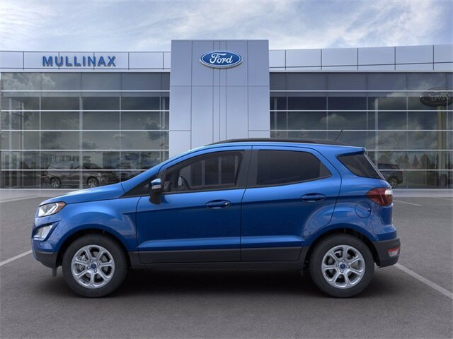 2021 Ford EcoSport SE FWD Automatic 4 Door EcoBoost 1.0L I3 GTDi DOHC Turbocharged VCT Engine