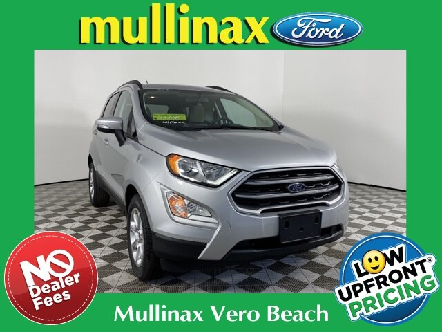 2021 Moondust Silver Metallic Ford EcoSport SE 4 Door Automatic EcoBoost 1.0L I3 GTDi DOHC Turbocharged VCT Engine SUV