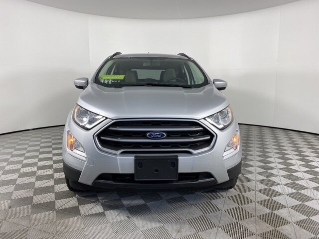 2021 Moondust Silver Metallic Ford EcoSport SE FWD 4 Door SUV Automatic EcoBoost 1.0L I3 GTDi DOHC Turbocharged VCT Engine