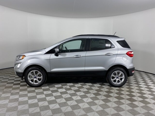 2021 Moondust Silver Metallic Ford EcoSport SE EcoBoost 1.0L I3 GTDi DOHC Turbocharged VCT Engine Automatic 4 Door