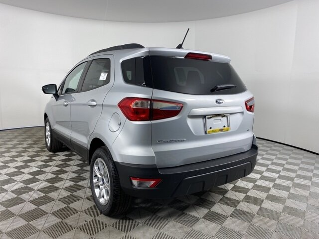 2021 Moondust Silver Metallic Ford EcoSport SE EcoBoost 1.0L I3 GTDi DOHC Turbocharged VCT Engine FWD SUV