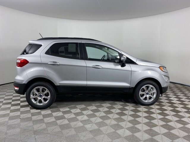 2021 Moondust Silver Metallic Ford EcoSport SE Automatic 4 Door EcoBoost 1.0L I3 GTDi DOHC Turbocharged VCT Engine FWD