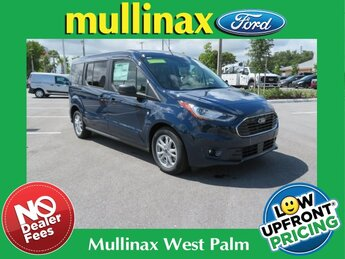 2021 Dark Blue Ford Transit Connect XLT Van FWD Automatic I4 Engine