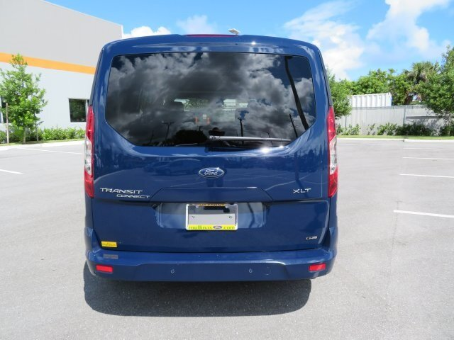 2021 Dark Blue Ford Transit Connect XLT Automatic I4 Engine 4 Door Van FWD