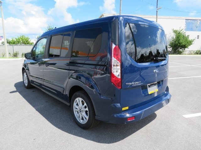 2021 Dark Blue Ford Transit Connect XLT Van FWD Automatic 4 Door