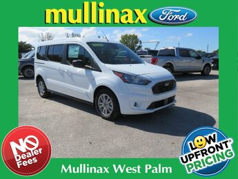 2021 Frozen White Ford Transit Connect XLT 4 Door I4 Engine Automatic