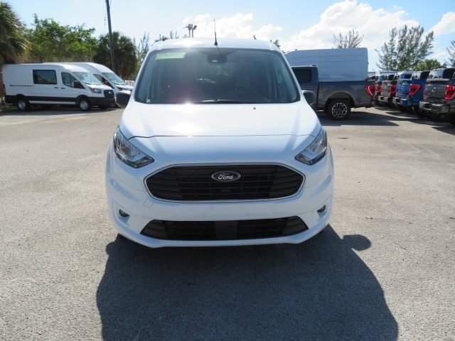 2021 Frozen White Ford Transit Connect XLT Automatic I4 Engine 4 Door
