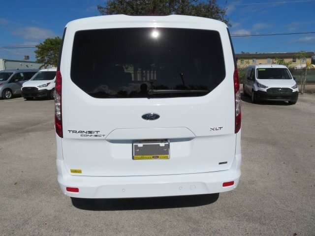 2021 Frozen White Ford Transit Connect XLT Van I4 Engine Automatic
