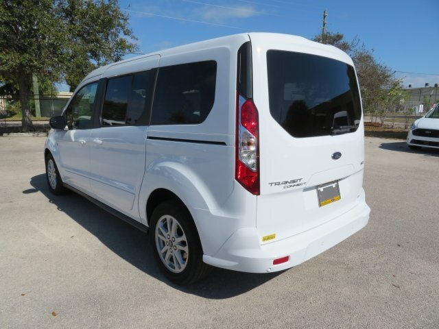 2021 Frozen White Ford Transit Connect XLT 4 Door Automatic Van I4 Engine FWD
