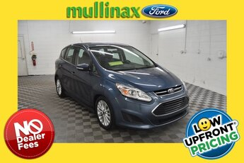 2018 Blue Metallic Ford C-Max Hybrid SE 4 Door 2.0L I4 Atkinson-Cycle Hybrid Engine Hatchback FWD Automatic (CVT)